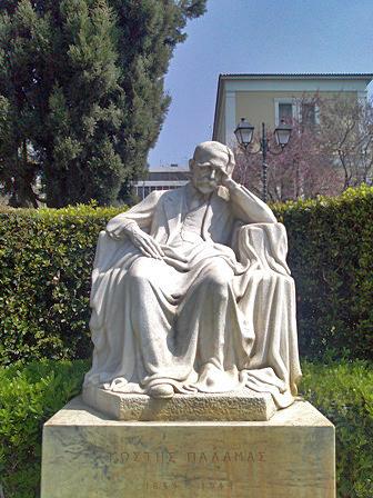 Ο Κωστής Παλαμάς, Βάσος Φαληρέας