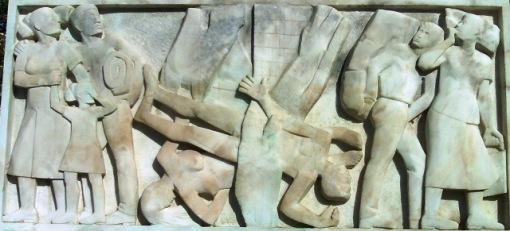 Χρυσόστομος Σμύρνης, Γλύπτης : Θανάσης Απάρτης