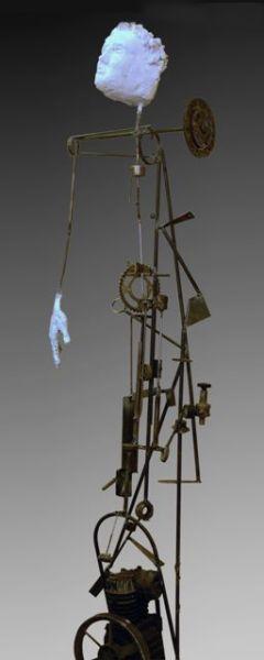''robotday'' 2m, metal
