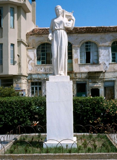 Σαπφώ, Γλύπτης : Αθανάσιος Λημναίος