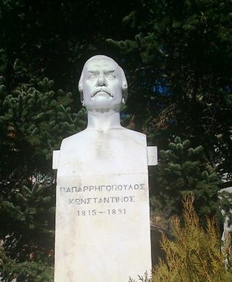 Κ.Παπαρηγόπουλος,Γλύπτης : Μιχάλης Τόμπρος