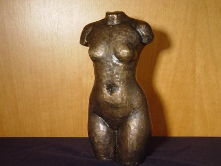 ρούσσης γιώργος,κορμός,1995,Υ 30  ορείχαλκος, ιδιωτική συλλογή, .
